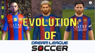 EVOLUTION OF DREAM LEAGUE SOCCER 09 to 18