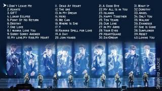 슈퍼주니어 (super Junior) - Ballads Compilation [80 Songs\5hrs]