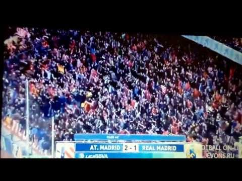 Real Madrid Vs Atletico Madrid 2014