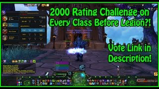 Frost Death Knight - 2000 rating = Finished! Elite Conquest Gear for Legion RDY!