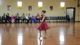 Смотреть видео Cha-cha-cha!  Турнир по Школе Танца II Ступень.Москва! Софья Зыкова (СТК СТИЛЬ,Тула) онлайн