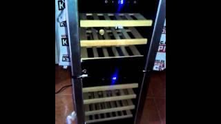 Обзор Винного шкафа Ecotronic WCM-33D для хранения 33 бутылок вина