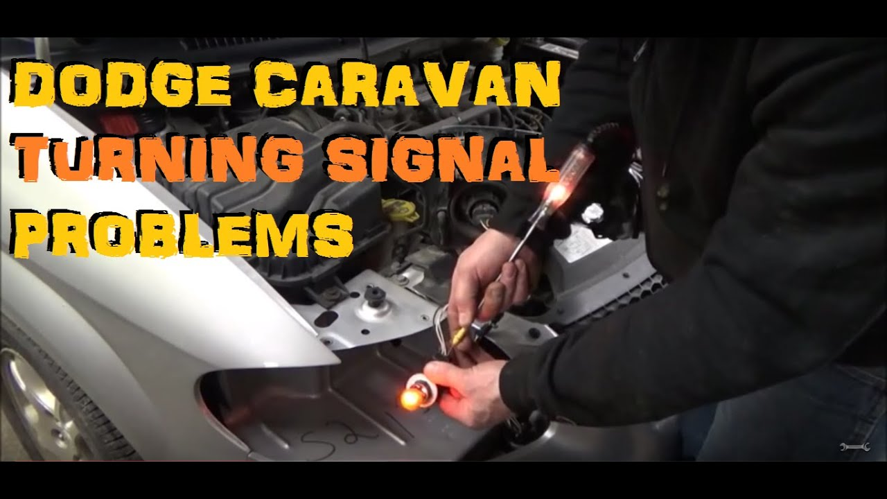 medium resolution of dodge caravan turning signal troubles