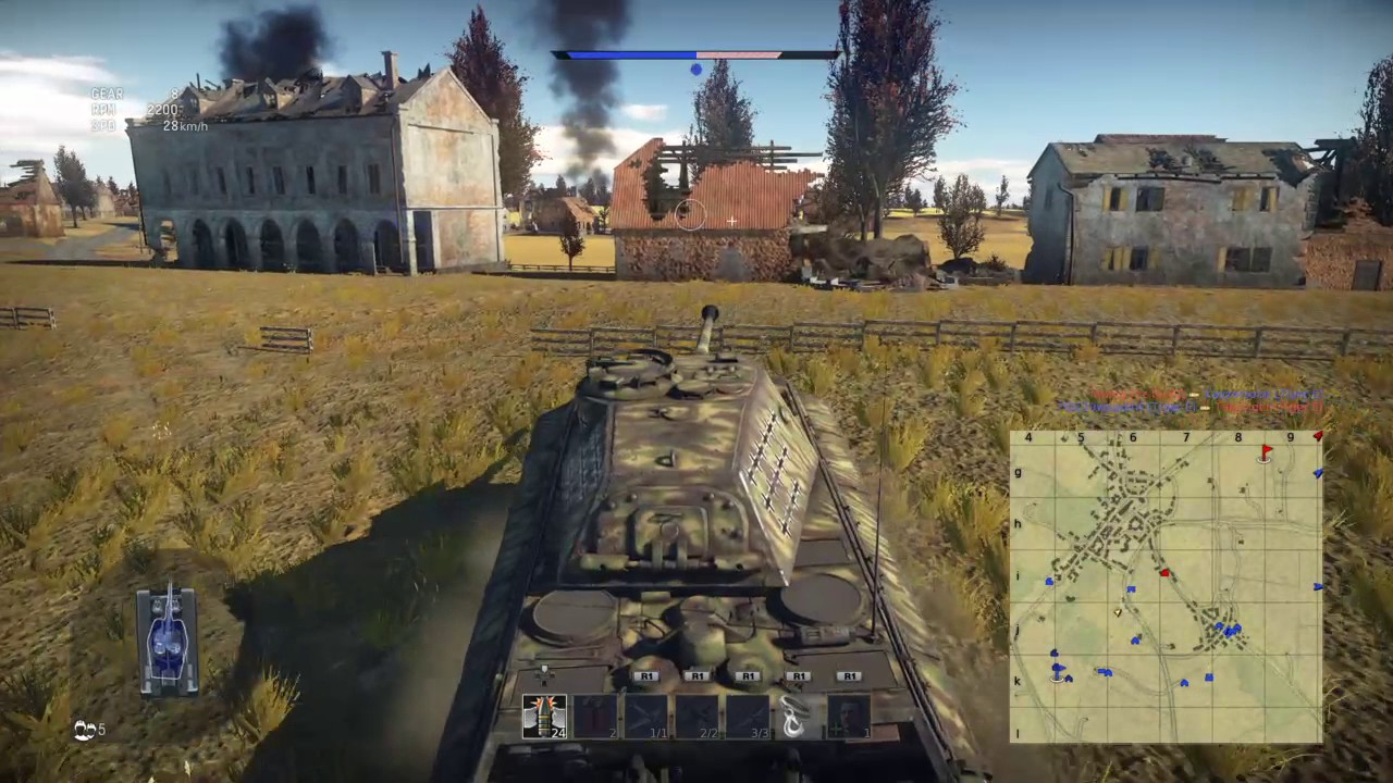 War Thunder - NEW map Ardennes - 9Kills - PS4 - YouTube