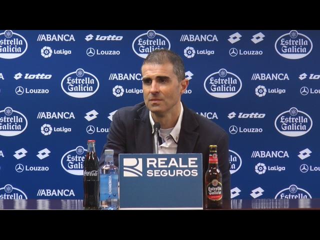 Rueda de prensa de Garitano tras la derrota ante el Alavés (18/02/2017)