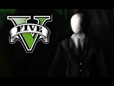 SLENDERMAN IN GTA 5! (GTA V PC MACHINIMA) - YouTube