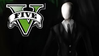 SLENDERMAN IN GTA 5! (GTA V PC MACHINIMA)