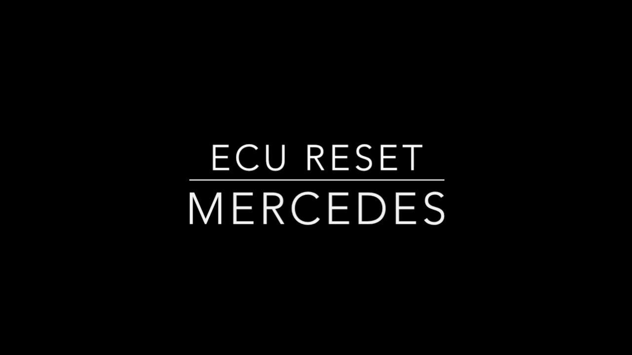 ECU/Throttle Reset on Mercedes