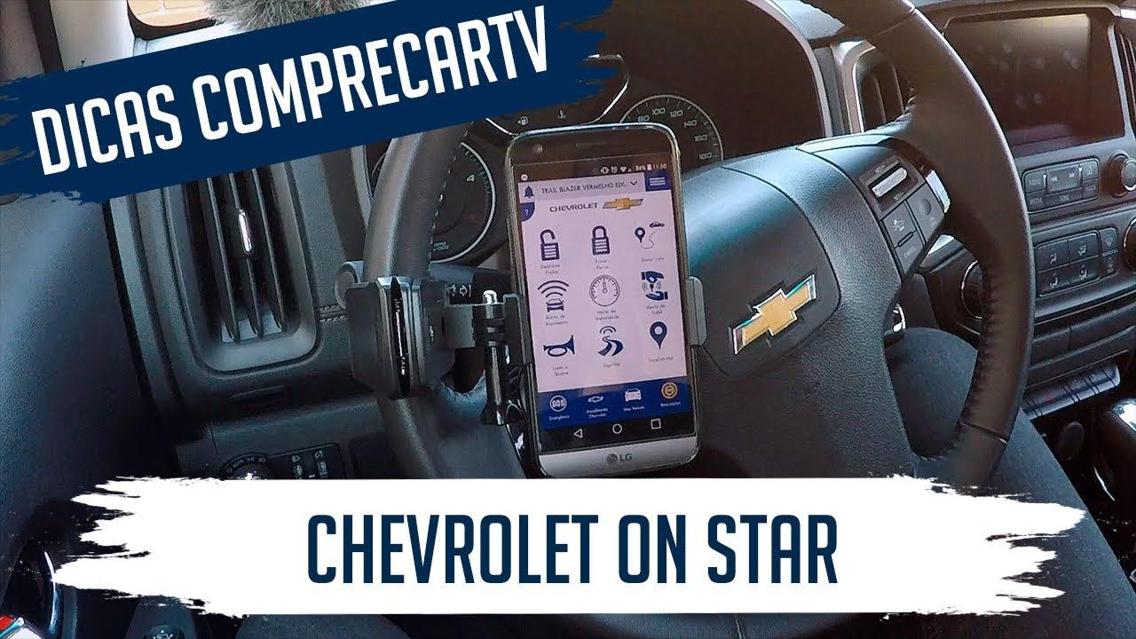Chevrolet On Star Controlando O Carro Pelo Aplicativo Do Celular