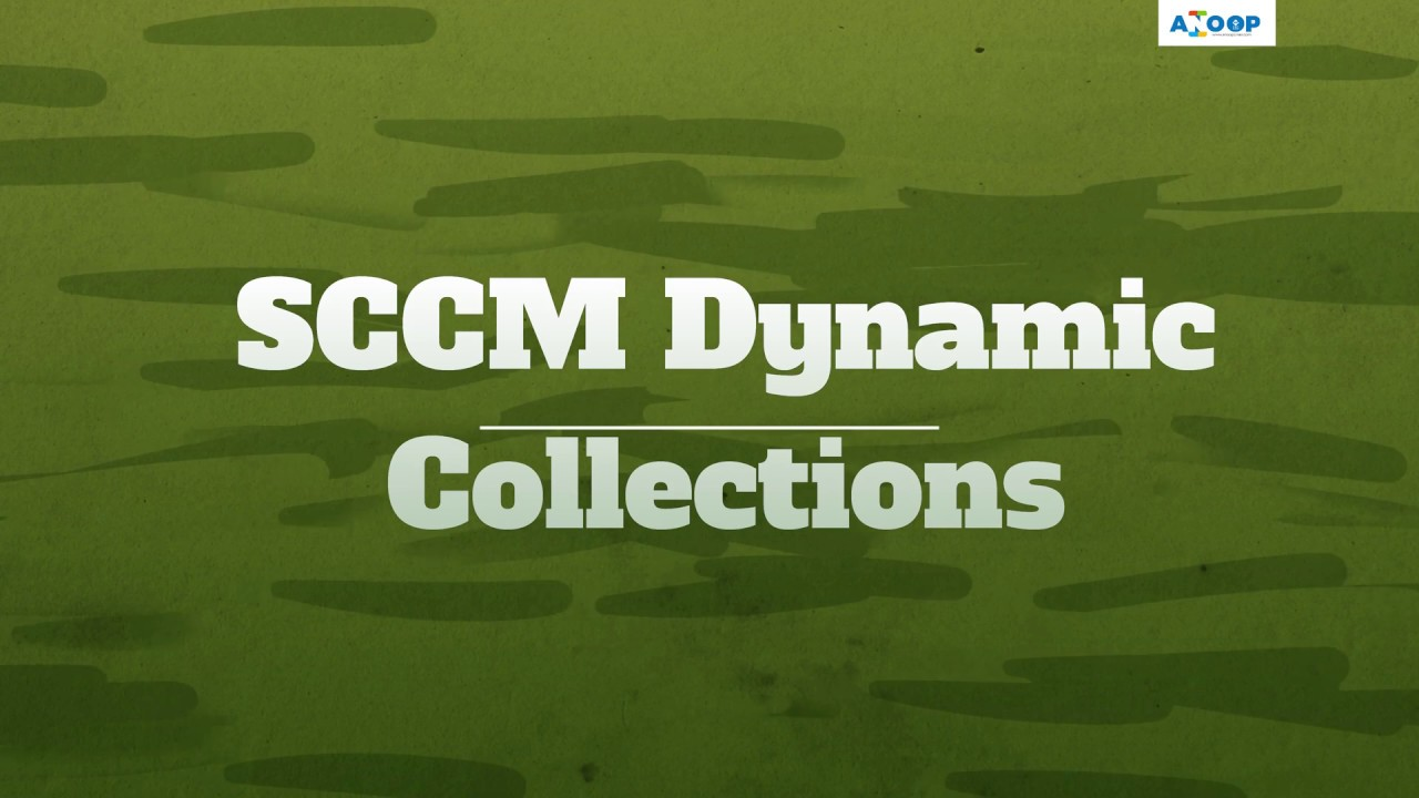How to Create SCCM Dynamic Collections Part 2 How to Create Collection  Folders?