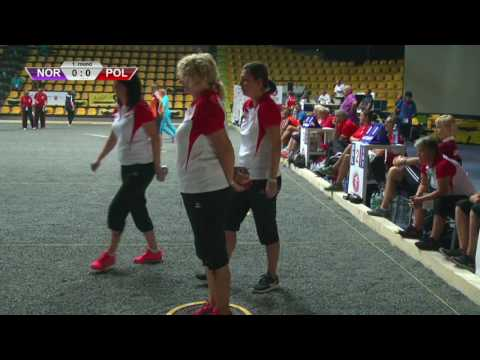 European Championship 2016 - Women petanque - Championship Qualification Round 1 and 2 STAGE 1