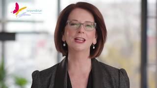 Julia Gillard shares her vision for beyondblue