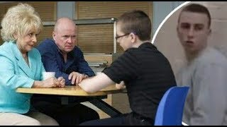EastEnders - Cal Childs Threatens Ben Mitchell (19th July 2010)