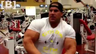Jay Cutler Biceps & Shoulder Workout