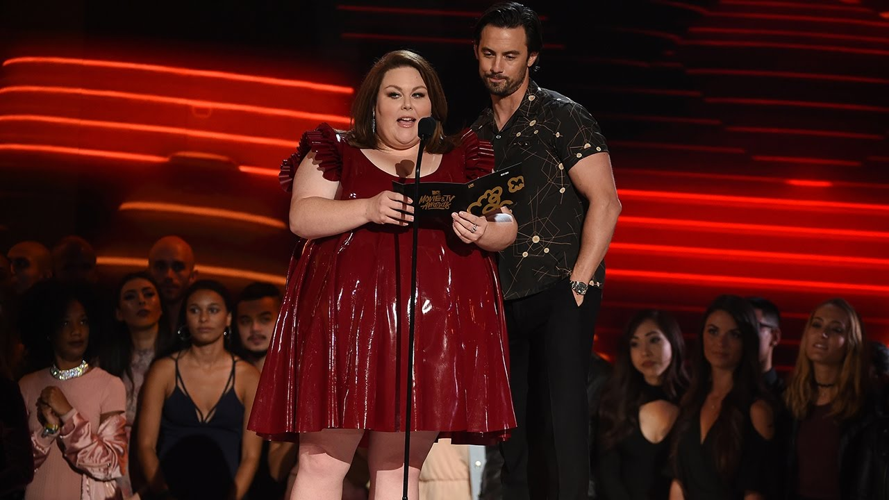 Chrissy Metz's MTV Movie & TV Awards Latex Dress Was a Year in the Making
