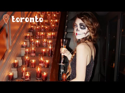 HALLOWEEN VLOG 2017! Getting Lit At A Fancy Gala🎃