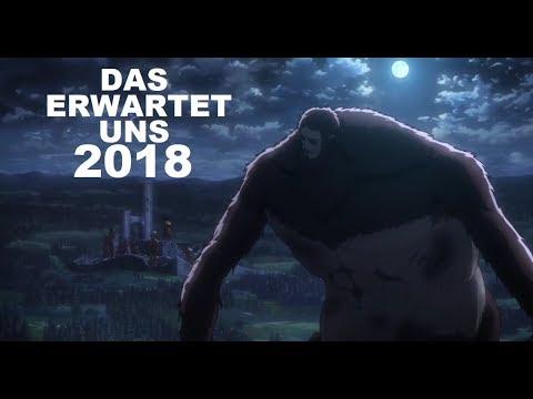 ATTACK ON TITAN 2018! DAS erwartet uns!