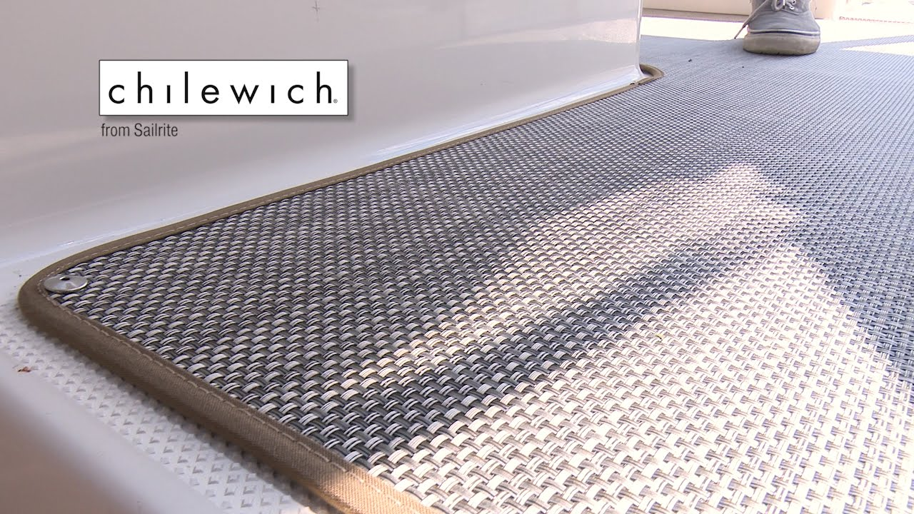 How to Replace Boat Carpet with Woven Flooring - YouTube