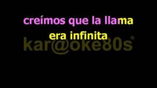 Malú / Cenizas karaoke