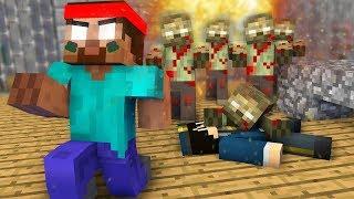 Monster School : JAILBREAK ZOMBIE APOCALYPSE Challenge - Minecraft Animation