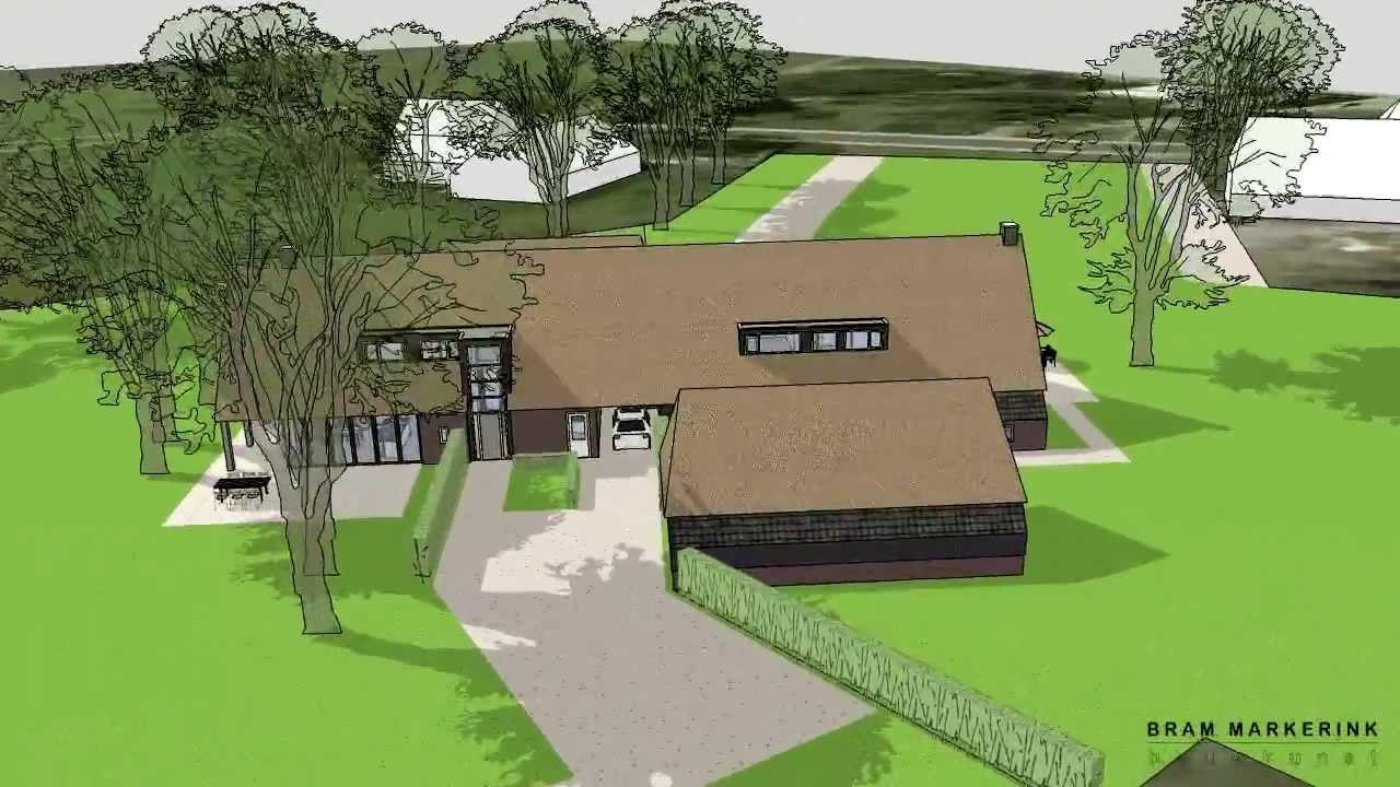Ontwerp voor een dubbele woonboerderij te weerdinge emmen for Dubbele bewoning boerderij