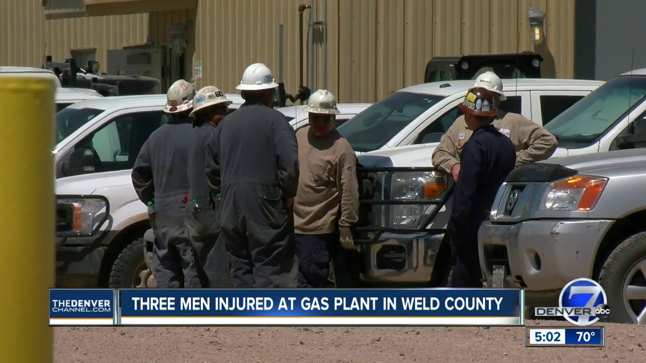 3 oil and gas contractors burned in flash fire at northern Weld County site