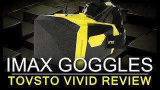 "IMAX STYLE FPV GOGGLES - TOVSTO VIVID 7"" Widescreen Review"