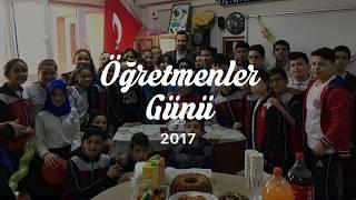 Öğretmenler Günü 2017 | Ş.Ö.Ahmet Onay Ortaokulu