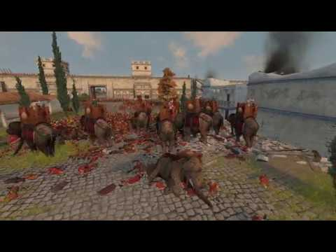 Total War: Rome 2 - Scipio's first elephant hunt |