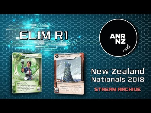 ELIM R1 - NZ Nationals 2018 - Michael W vs Jake B