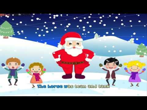 Jingle Bells - Merry christmas   Christmas Songs Lyrics (Music 4K Video)