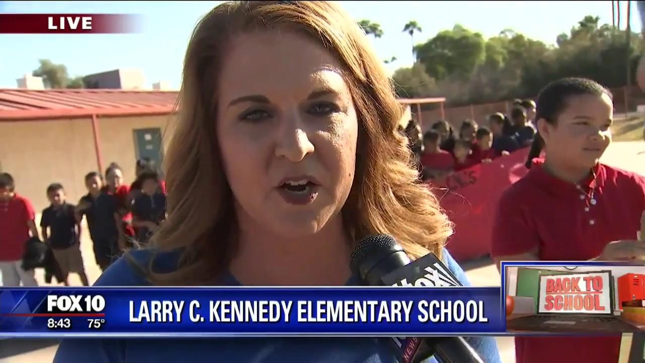 Back to school: Larry C. Kennedy Elementary School
