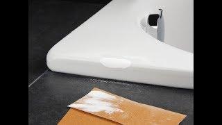 Как и чем заделать скол на ванне: акриловой, чугунной, эмалированной