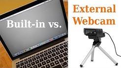 Webcam Comparison: Logitech C920 vs, MacBook Pro Facetime Camera