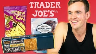 Irish People Try Trader Joe's Snacks