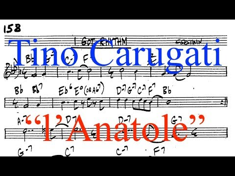 """Lezione di Piano n.270: """"Anatole/Rhythm changes"""""""