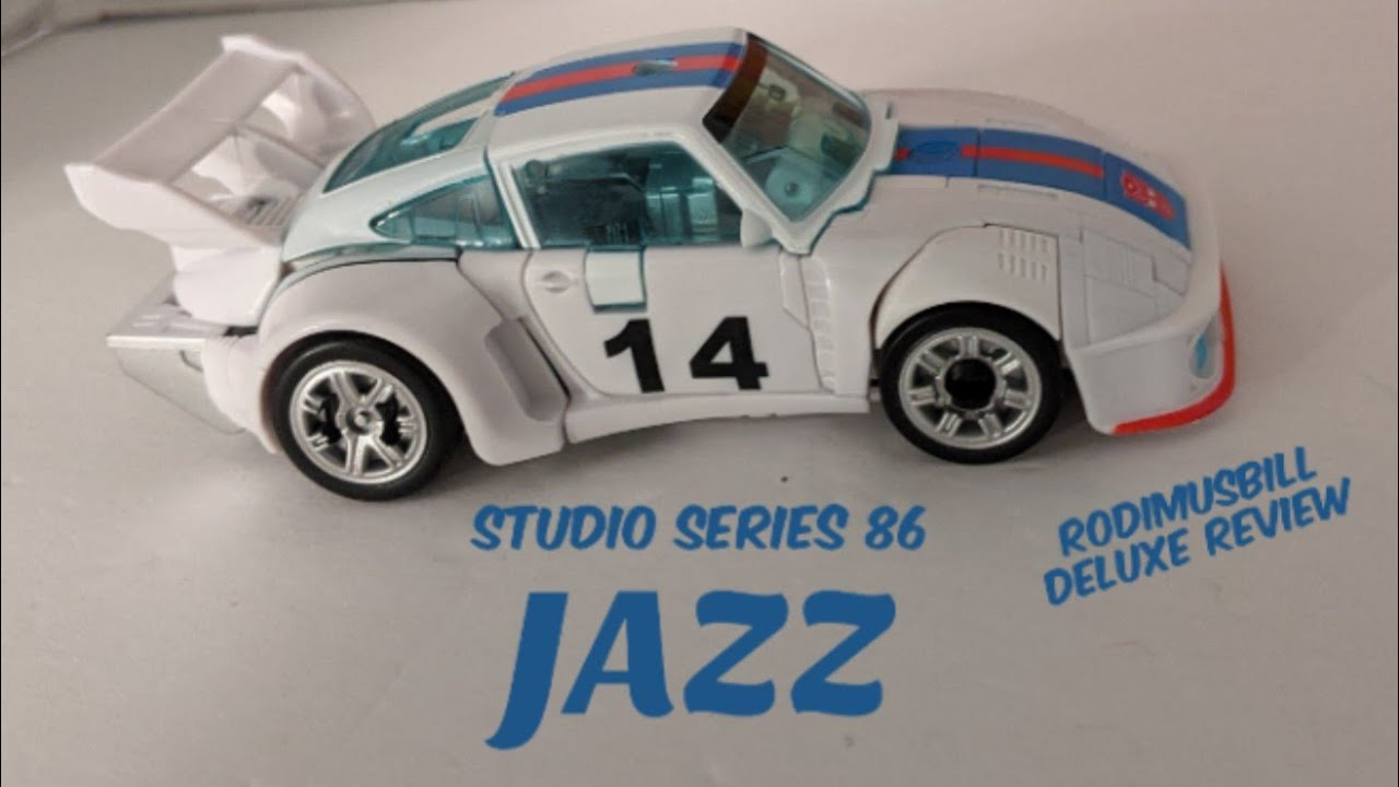 Studio Series 86-01 AUTOBOT JAZZ Deluxe Figure - Review by Rodimusbill