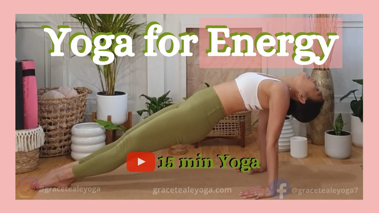 Yoga for Energy | 15 minute Yoga Flow | Energizing Yoga