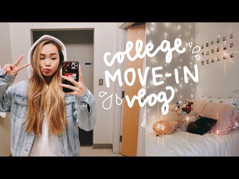 COLLEGE MOVE IN DAY VLOG 2020 ✰ Northeastern University Freshman