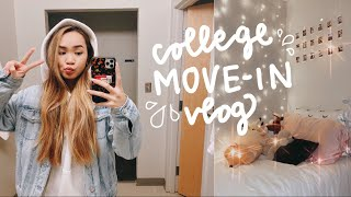 COLLEGE MOVE IN DAY VLOG 2020 ✰ Northeastern University Freshman