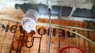 Pozice potrubí naší podlahy 2