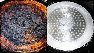 সহজেই পরিস্কার করুন ননস্টিক প্যান || easily clean nonstick pan || How to clean dirty nonstick pan ..