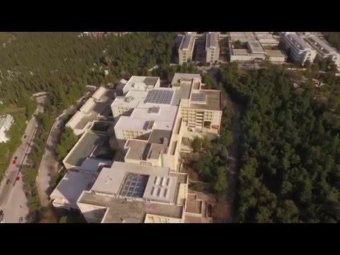 DJI Phantom 3 above Athens Campus - Πανεπιστημιουπολη