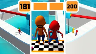 Fun Race 3D Game Level 181-200 Walkthrough