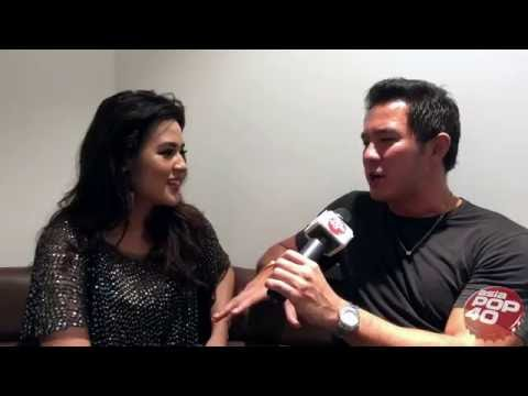 Raisa interview on Asia Pop 40