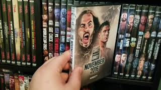My Wrestling VHS/DVD/Blu Ray Collection (WWE, TNA, ROH, NJPW)