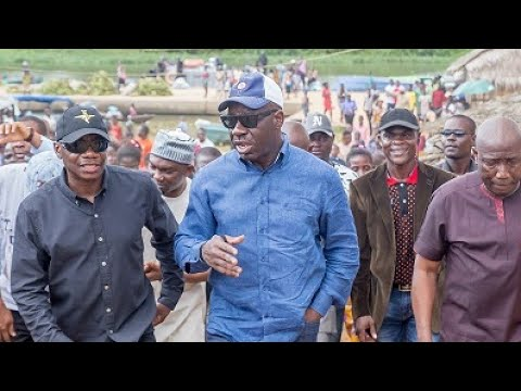 Benin River Port: Obaseki tours Edo waterways, assures investors of security, communal support