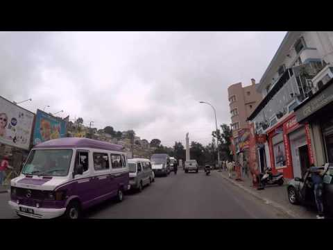Madagascar Antananarivo Avenue de l'indépendance, Gopro / Madagascar Tananarive