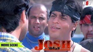 Shahrukh Khan's Dhamakedaar Entry | Josh | Shahrukh Khan, Aishwarya Rai Bachchan | Full HD