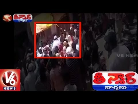 Moulali Corporator Husband Rowdyism: Slaps Common Man | Teenmaar News | V6 News